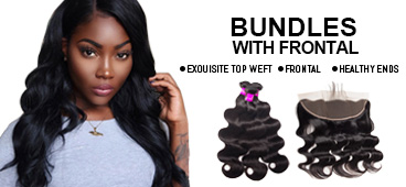 Evan Hair bundle with Frontal banner