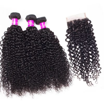 curly hair with closure,curly hair bundles with closure,curly hair bundles,curly wave bundles with closure,Indian curly wave bundles with closure,virgin curly wave bundles with lace closure,human curly hair bundles