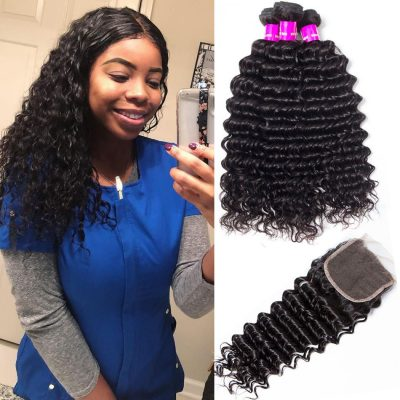 deep wave bundles closure,deep wave hair with closure,cheap deep wave with closure,Peruvian deep wave hair bundles with closure,hair bundles deep wave with lace closure,deep lace closure with bundles,closure with deep wave bundles,deep wave with closure near me,virgin deep wave bundles