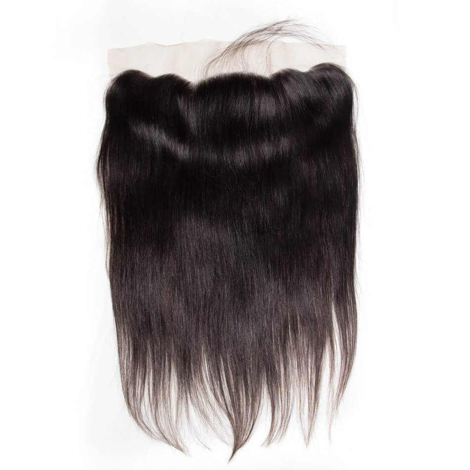 Evan Hair human hair straight wave closure lace frontal