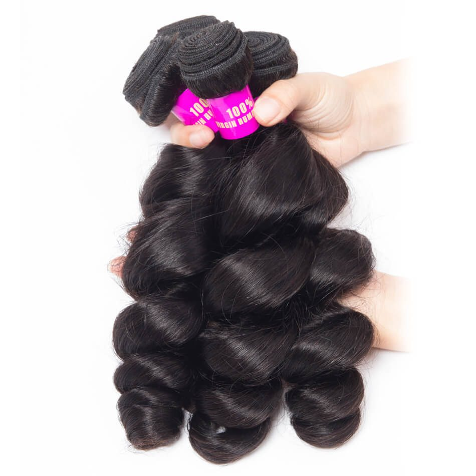 Evan hair loose wave 3 Bundles