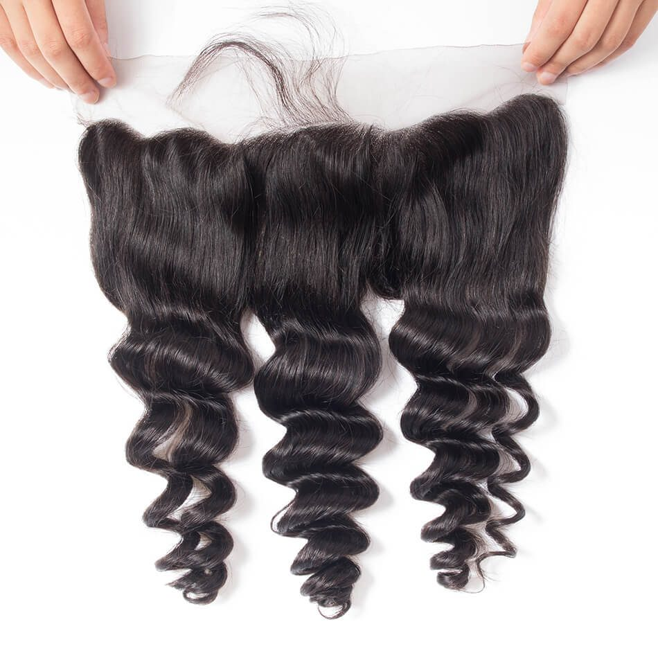 Evan hair loose wave frontal lace closure