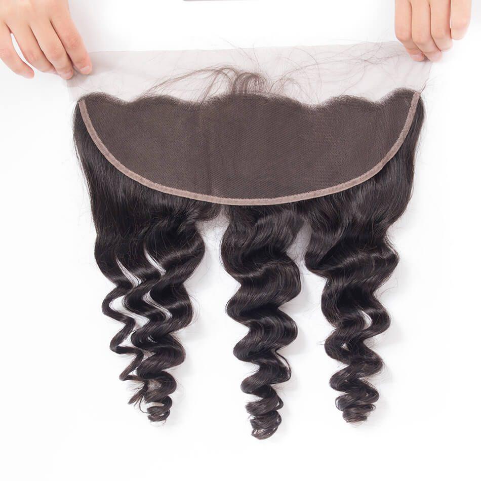 Evan hair loose wave frontal lace closure