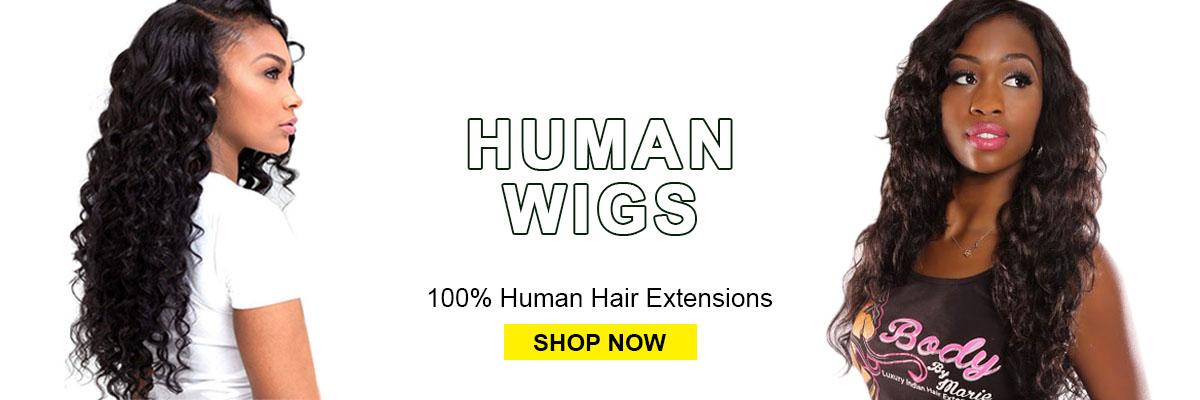 Evan Hair Human wigs hair banner
