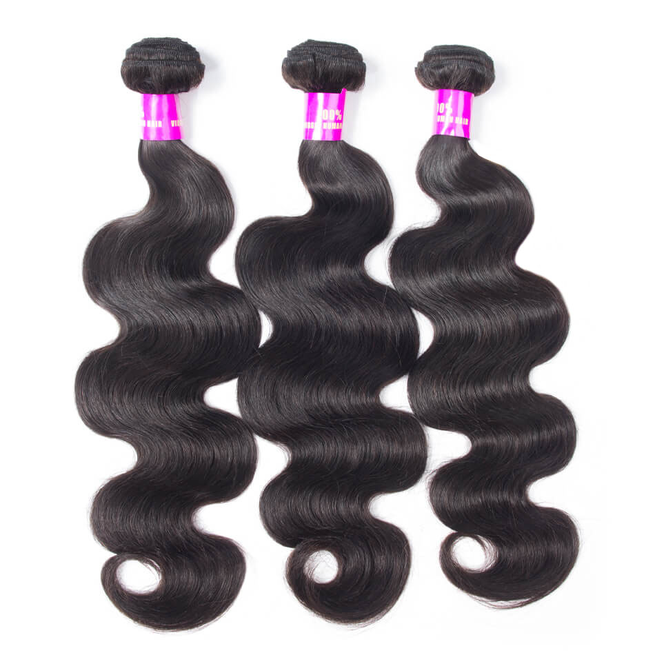 Evan Hair Peruvian Body Wave Hair 3 Bundles