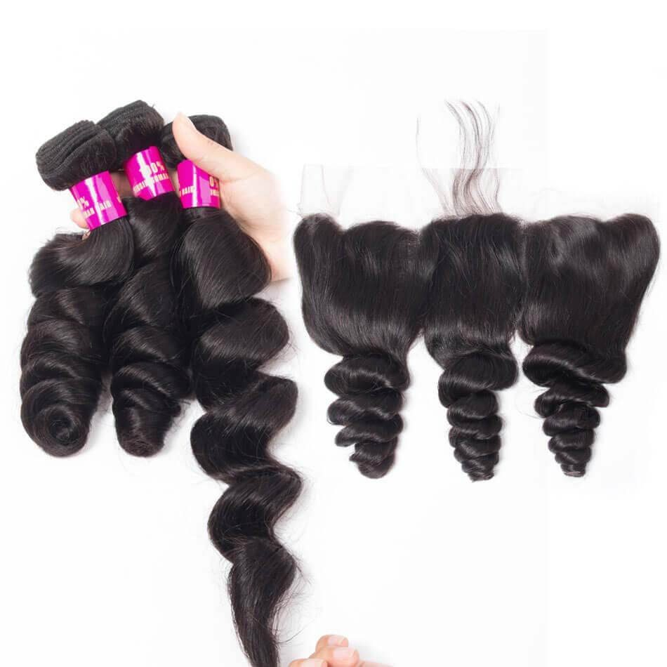 loose wave bundles frontal,cheap loose wave frontal and bundles,loose wave with frontal,Peruvian loose wave frontal,loose wave near me,best loose wave bundles frontal,loose wave 3 bundles frontal