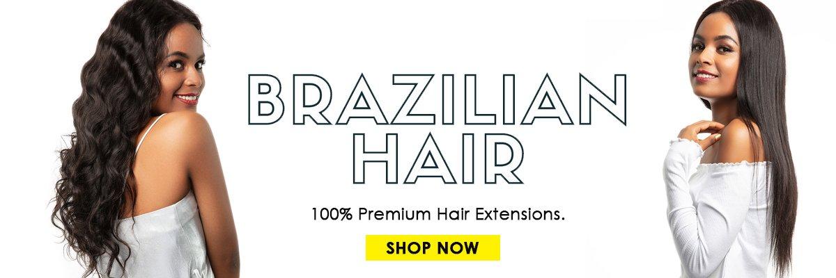 Evan hair brazilian human hair banner