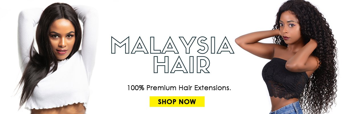 Evan hair malaysian human hair banner