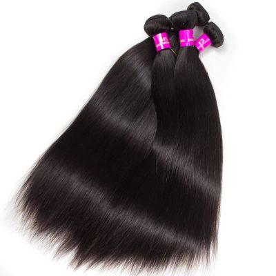 Evan Hair Virgin Straight Hair 4 Bundles Remy Human Hair Weave Cheap For Sale