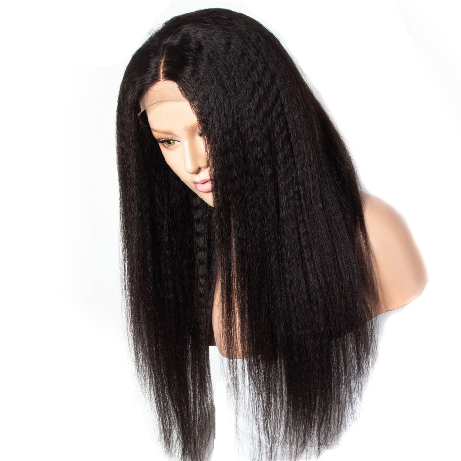 kinky straight wigs,kinky straight wig,Kinky straight front wig,best kinky straight wigs,kinky straight lace front wigs,kinky straight hair lace front wig,13x4 kinky straight lace front wig