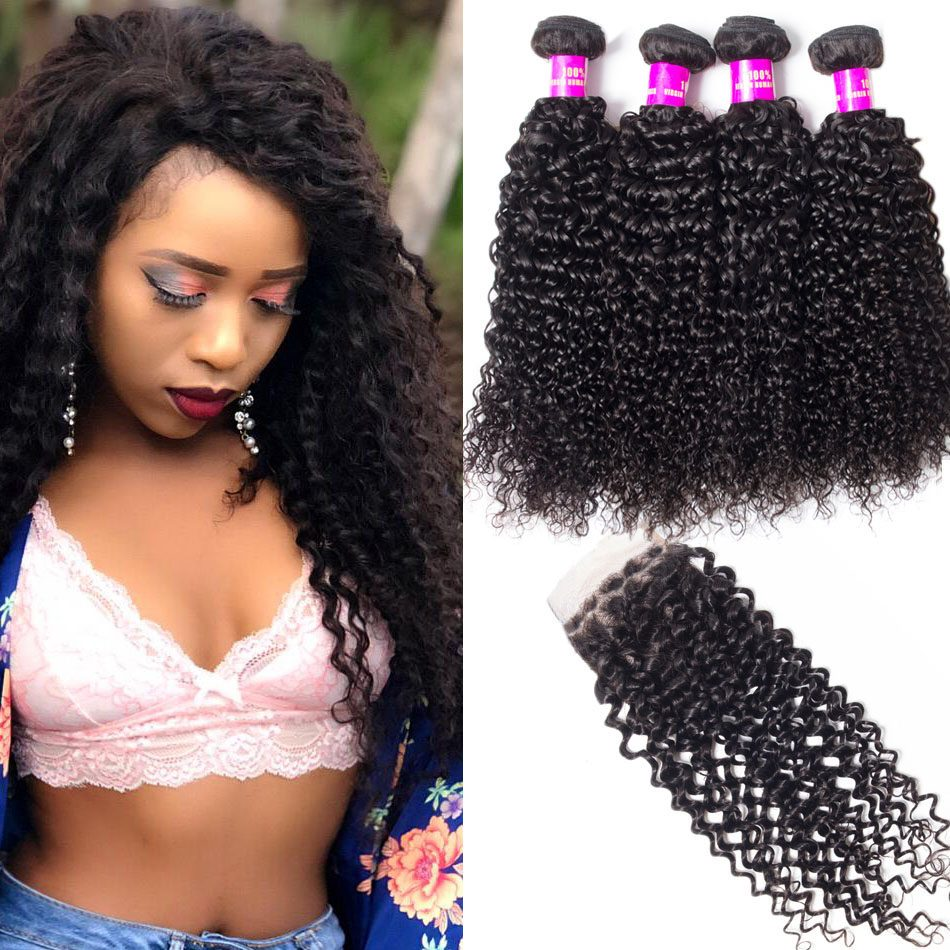 curly hair bundles with closure,curly wave with closure,Malaysian curly hair with closure,curly hair bundles deal,Malaysian hair with closure,Human virgin curly hair weave,human curly hair bundles and closure,Malaysian curly bundles closure