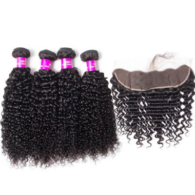 curly hair bundles with frontal,curly wave bundles with frontal,virgin human hair curly wave with closure frontal,curly human hair weave bundles with closure frontal