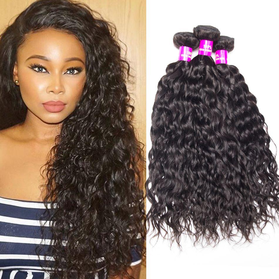 Brazilain water wave hair weave