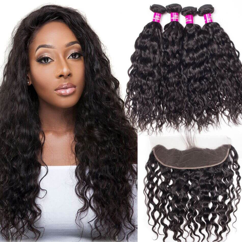 water wave bundles with frontal,Malaysian water wave bundles frontal,wet and wavy hair with frontal,water wave frontal with bundles,best water wave bundles frontal,cheap water wave bundles frontal,water wave frontal near me,water wave with 13*4 frontal