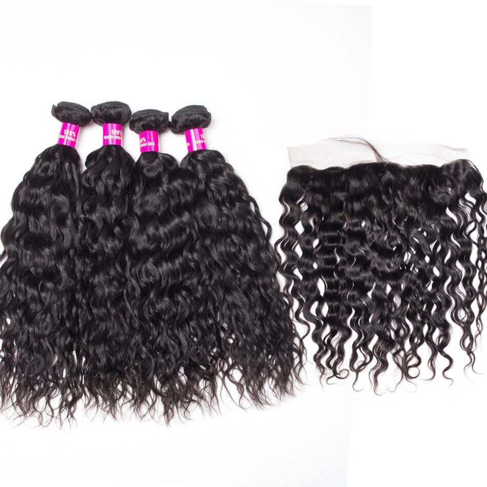 Peruvian water wave bundles frontal, wet and wavy hair with frontal,water wave frontal with bundles,best water wave bundles frontal,cheap water wave bundles frontal,water wave frontal near me,water wave with 13*4 frontal,wholesale water wave bundles frontal