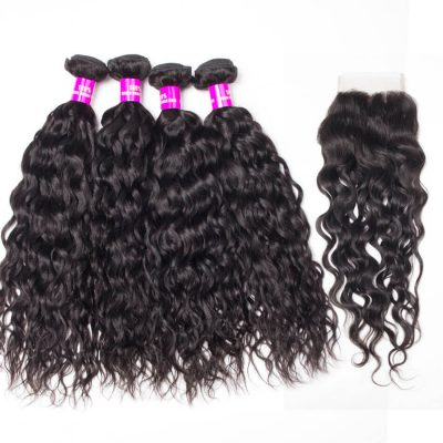 water wave bundles closure,water wave closure,water wave with closure,Peruvian water wave closure,Peruvian water wave bundles closure,water wave weave bundles closure,wet and wavy human hair with closure,wholesale water wave bundles with closure