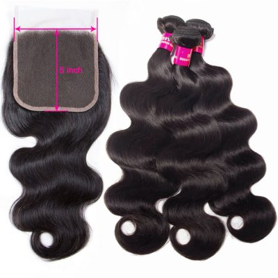 5x5 closure with bundles,body wave with 5x5 closure,5x5 lace closure body,body hair with 5x5 closure,bundles with 5x5 lace closure,5x5 closure with 3 bundles