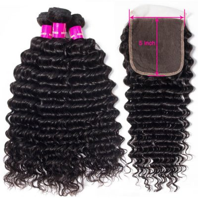 5x5 closure with bundles,deep wave with 5x5 closure,5x5 lace closure deep,deep hair with 5x5 closure,bundles with 5x5 lace closure,5x5 closure with 3 bundles