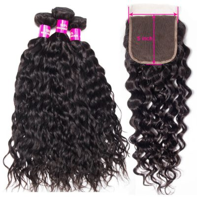 5x5 wet and wavy closure,water wave with 5x5 closure,5x5 closure with bundles,5x5 lace closure water,water hair with 5x5 closure,bundles with 5x5 lace closure,5x5 closure with 3 bundles
