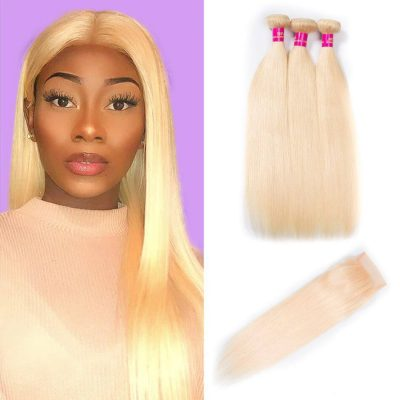 613 hair with closure,blonde straight hair with closure,613 straight with closure,613 bundles with closure,blonde hair with closure,613 straight bundles closure