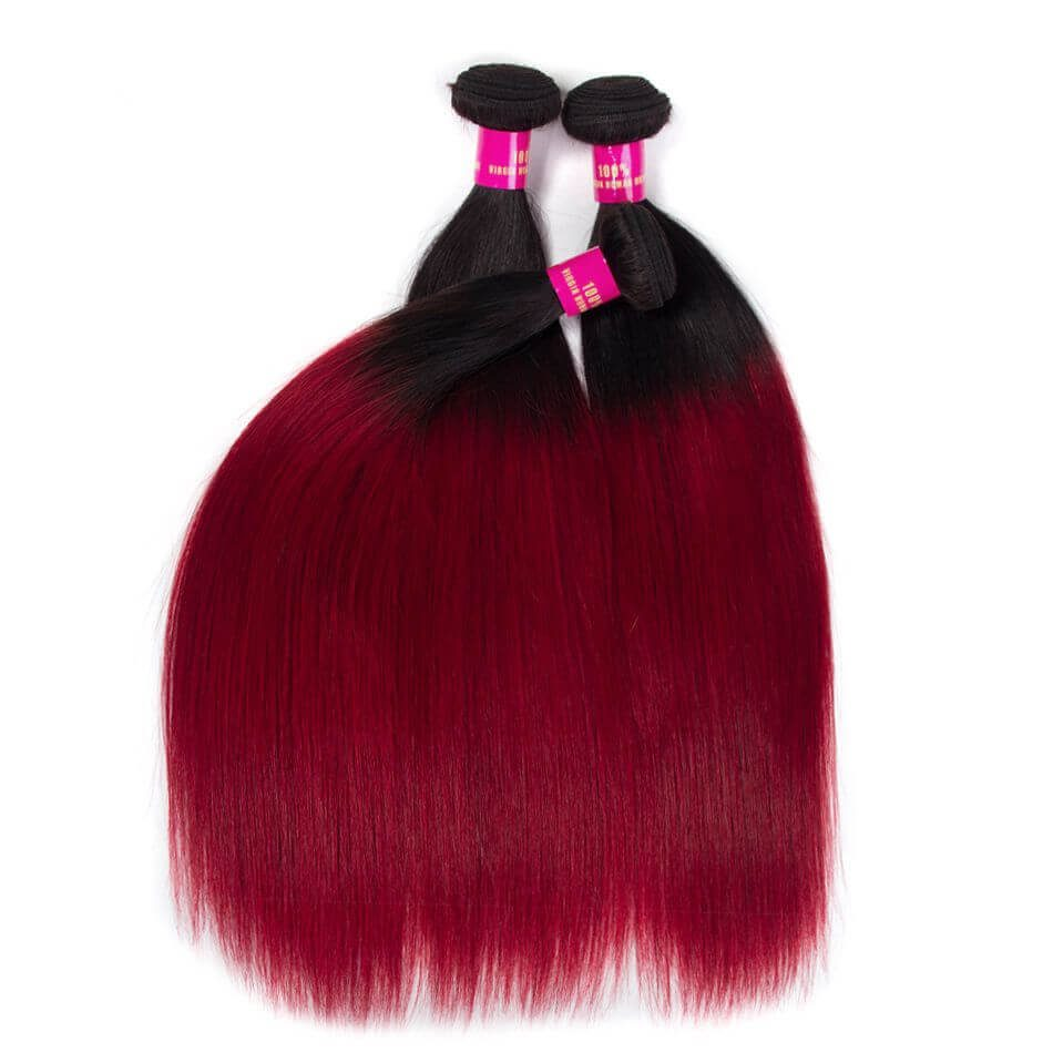 red straight hair,ombre red straight hair,red color hair bundles,burgundy hair color,virgin brazilian straight hair,burgundy human hair bundles,burgundy red hair