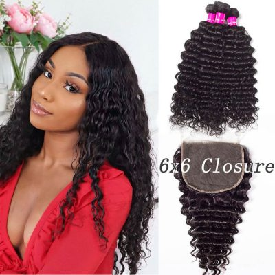 6x6 closure with deep wave,6x6 closure with deep bundles,6x6 lace closure deep,deep hair with 6x6 closure,bundles with 6x6 lace closure,6x6 closure and bundles