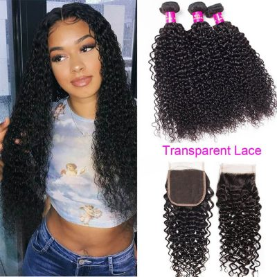 transparent closure curly weave,curly hair with transparent closure,transparent curly lace closure,transparent closure with curly wave,best curly transparent lace closure