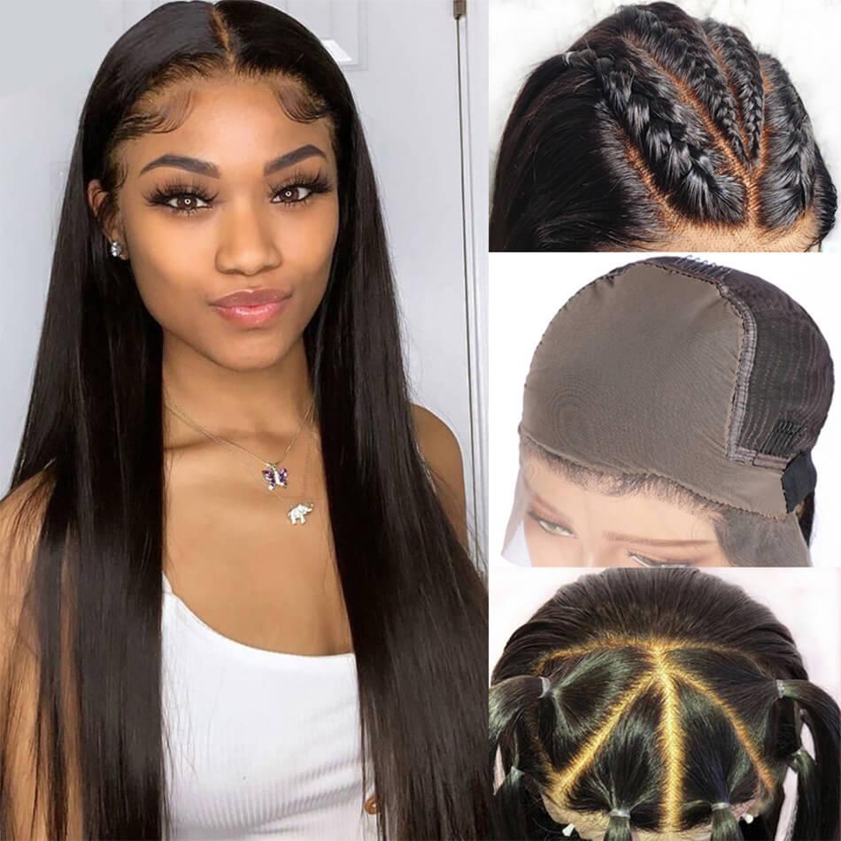 straight fake scalp wig,fake scalp frontal wigs,fake scalp front wigs,13×6 fake scalp wigs,fake scalp straight wig,straight hair wig,cheap fake scalp straight wig